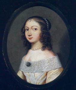 Portret van een jonge dame