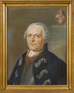 Portret van Alexander Walraad Diederik van Hugenpoth tot Aerdt (1695-1780)