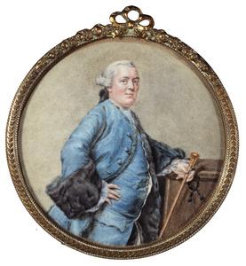 Portret van Willem Barnaart (1726-1779)