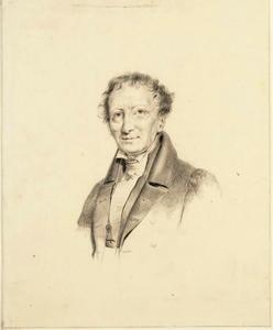 Portret van Jeronimo de Vries (1776-1853)