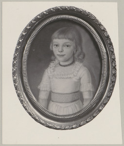 Portret van Margaretha Johanna Weddik Wendel (1786-1817)