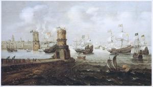 De inneming van Damiate in 1219 door de Haarlemmers