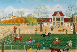 Het voorjaar van de jockeys