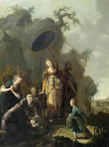 Het vinden van Mozes (Exodus 2:5-6)