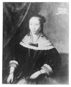 Portret van Sibille Nijkerken (1625-1665)