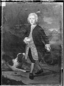 Portret van Jan Nanning van der Hoop (1738-1782)