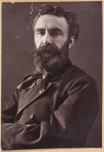 Portret van Elchanon Leonardus Verveer (1826-1900)