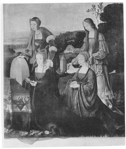 De HH. Catharina en Goedele met Catharina Hardenrath en Sibilla van Merle