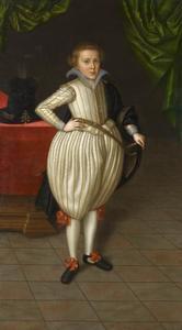Portret van Christian von Braunschwig-Wolfenbüttel (1599-1626)