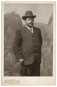 Portret van Hendrik van Brakel (1856-1906)