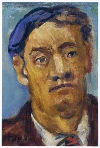 Zelfportret van Herbert Fiedler (1891-1962)