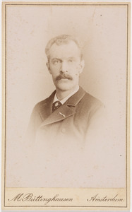 Portret van Ernst Willem Berg (1848-1907)