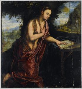 De boetvaardige Maria Magdalena in de woestenij