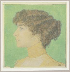 Portret van Lily Clifford (1884-1960)