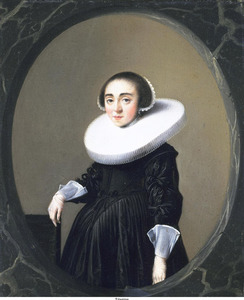 Portret van Anna Hooftman (1613-...)