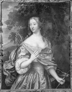 Portret van mogelijk Jacoba van Orliens (1643-1691)