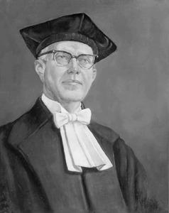 Portret van Pieter Jan Bouman (1902-1977)