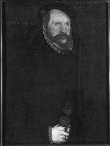 Portret van Sir John Sulyard, in 1556 High Sheriff van Suffolk en Norfolk