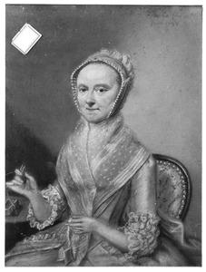 Portret van Johanna Antonia Strick van Linschoten (1733-1806)