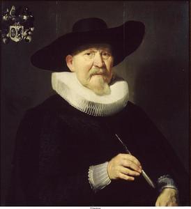 Portret van een man, mogelijk Hans van Hogendorp (1569-1652)