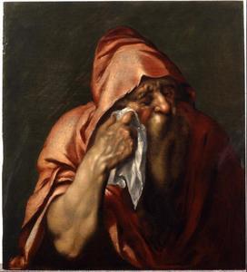De wenende filosoof Heraclitus