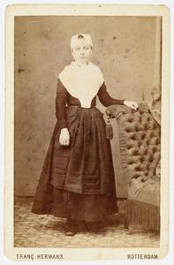 Portret van Simonetta Johanna Bartha Poortman (1856-1876)
