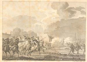 Schermutseling tussen Hollandse en Franse troepen, 1793