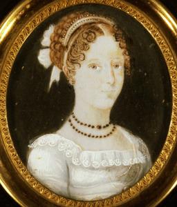 Portret van Isabella Henrietta Philippina Sweerts de Landas (1800-1875)