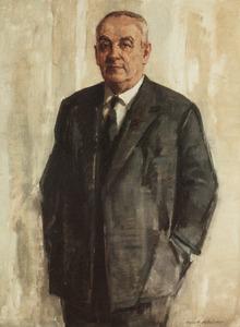 Portret van Sydney J. van den Bergh (1898-1977)