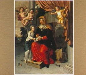 De opvoeding van Maria door de H. Anna