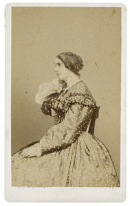 Portret van Adriane Davida Charlotte van Capellen (1812-1864)