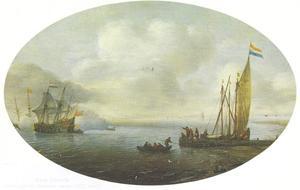Schepen voor de Hollandse kust