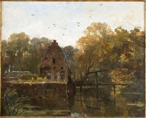Landschap bij kasteel Doorwerth