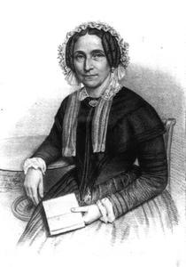 Portret van Marguerite de la Faille (1801-1869)