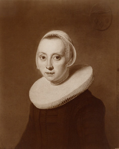 Portret van Maria Poppen (1606-1679)