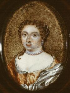 Portret van Johanna St. de Gilles (1649-1719)