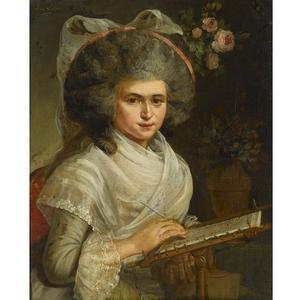 Portret van Henriette Everdina Beeldsnijder (1771-1795)