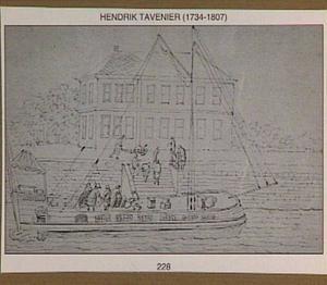 Beurtschip van Antwerpen naar Brussel