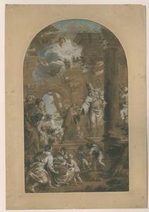 Opdracht van Maria in de tempel
