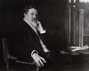 Portret van Piet Slager sr. (1841-1912)