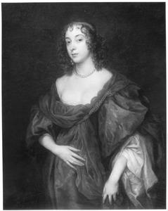 Portret van Elizabeth Howard (?-?), tweede echtgenote van Algernon Percy, 4th Earl of Northumberland