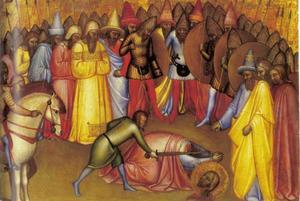 Martelaarschap van een heilige