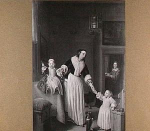 Familiep van Ewout Prins (1622-1662), Maria Willemsdr. de Graeff (1633-1680) en hun dochters Maria (1658-1699) en Catharina (1659-1707)
