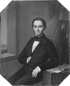 Portret van Albert Anne Willem Schuyt (1799-1882)