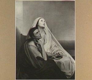 De Heilige Augustinus en zijn moeder Monica