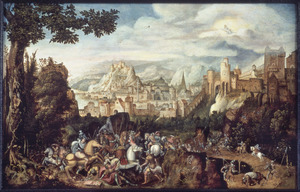 De bekering van aulus op de weg naar Damascus
