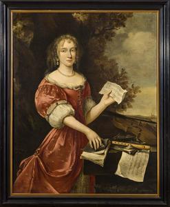 Portret van Johanna Helena Glauwe (?-1689)