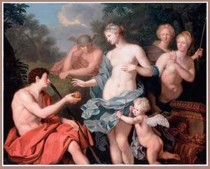 Het oordeel van Paris (Hyginus 92; Lucianus, Deorum dialogi, 20)>