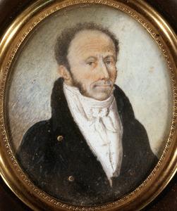Portret van Maurits Johan Willem de Milly ( ....-1833)
