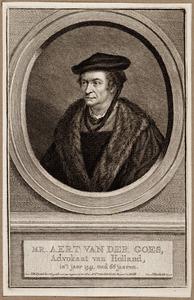 Portret van Aert van der Goes (1475-1545)